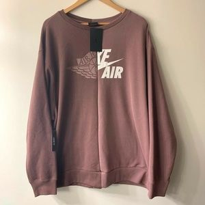 Nike Air Jordan SRT Logo Remix Crewneck Sweatshirt